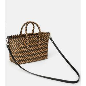 Zara two tone bag